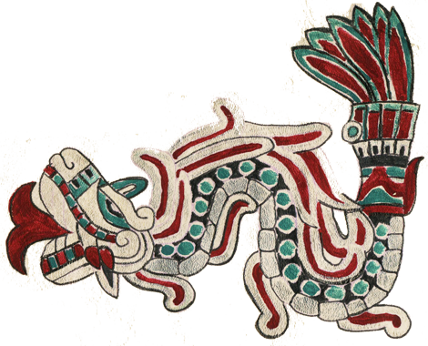 Quetzalcoatl as the Feathered Serpent